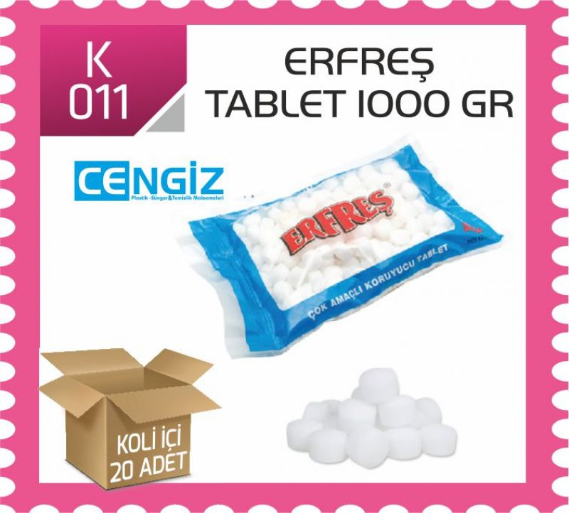 Erfreş Tablet 1000 gr
